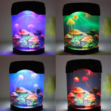 Mildness Jellyfish Night ABS CE 0-5W MultiColor LED Sea World Novelty Swimming Aquarium Decor Light