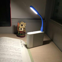 Mini Table Lamp Reading Book Light Gadgets Flexible USB led Night Lights USB Eye Hand Lamp for Power PC laptop Notebook Home