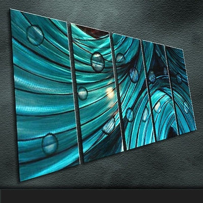 Modern Original Art Indoor Metal Wall Art Large Painting Sculpture Indoor