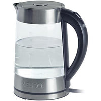 Nesco(R) GWK-02 1.8-Liter Electric Glass Water Kettle