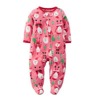 New 2019 Autumn Spring Baby Rompers Clothes Long Sleeves Newborn Boy Girls Polar Fleece Baby Jumpsuit Baby Clothing 9-24m