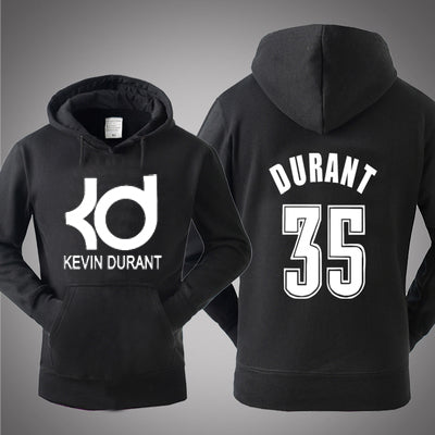 New 2019 Autumn Winter hooded For Kevin Durant basketball hoodies sportswear men kd pullover thicken long sleeve tracksuit
