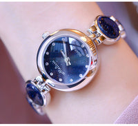 Noble Blue Elegant Lady Statement Watch