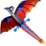 New High Quality  Classical Dragon Kite 140cm x 120cm Single Line With Tail With Handle and Line Good Flying Kites From Hengda