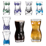New Sexy Lady Men Durable Double Wall Whiskey Glasses Wine Shot Glass Big Chest Beer Cup 30ml /700ml Bar Nightclub Wine Glass