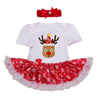 Newborn Baby Girl Clothes Infant Clothing Superman Baby Christmas Costumes Lace Romper Dress 1st Birthday Outfits Bebe Jumpsuit