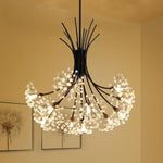 Nordic modern minimalist dandelion chandeliers creative led art living room dining chandeliers fashion bar lamps led lighting