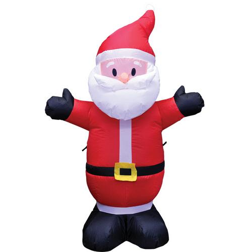 SANTA INFLATABLE  4 ft