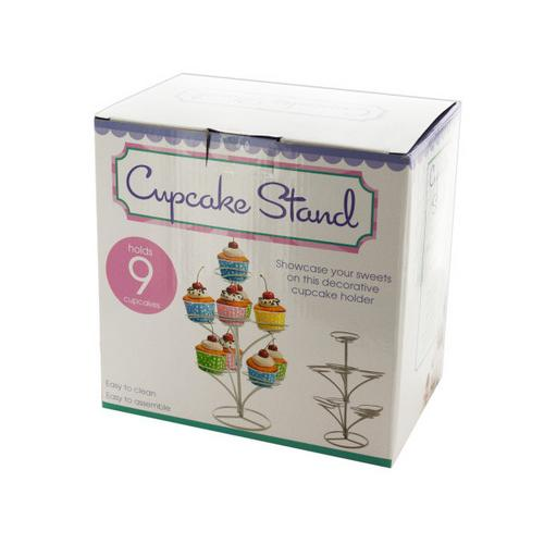 Three Tier Cupcake Stand ( Case of 12 )