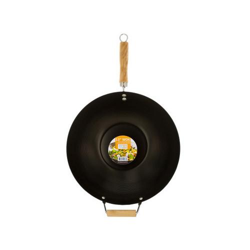 Wok with Easy to Clean Coated Surface ( Case of 1 )