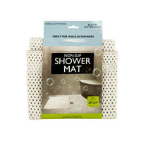 Non-Slip Shower Mat with Suction Cups ( Case of 6 )
