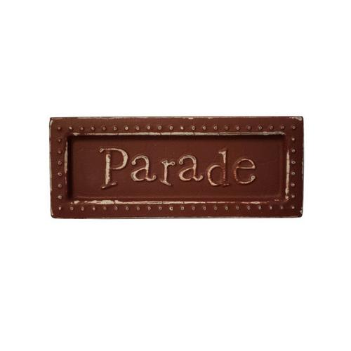 Parade Mini Metal Sign Magnet ( Case of 72 )