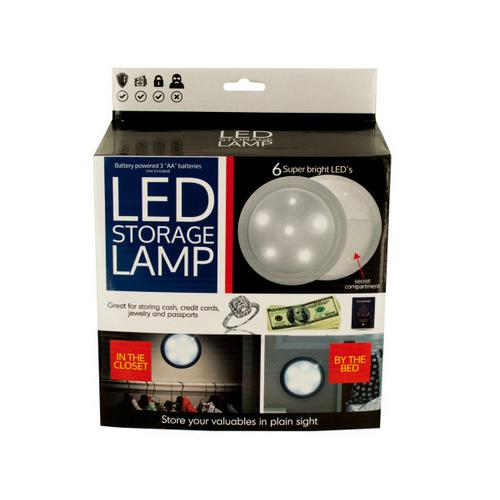 LED Secret Storage Lamp ( Case of 1 )
