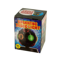 Mini Spinning Disco Party Light ( Case of 2 )
