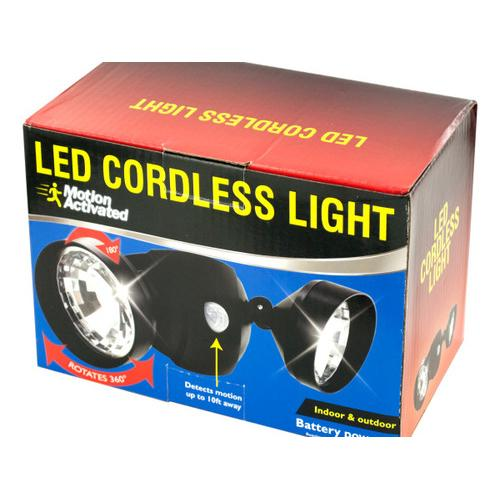Motion Activated Cordless LED Light ( Case of 1 )