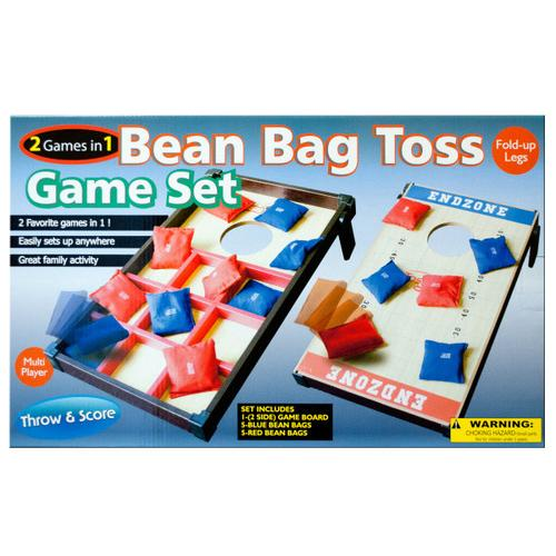 2 In 1 Bean Bag Toss Game Set ( Case of 1 )