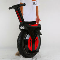 One Wheel Balance Electric Scooter Self Balancing Personal Transporter with Telescopic Handle