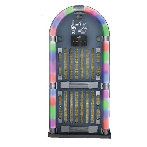 PPG Mostalgic Bluetooth Jukebox Speaker System with Neon Lights