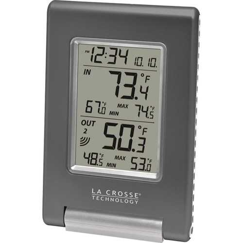 La Crosse Technology(R) WS-9080U-IT-CBP Wireless Temperature Station
