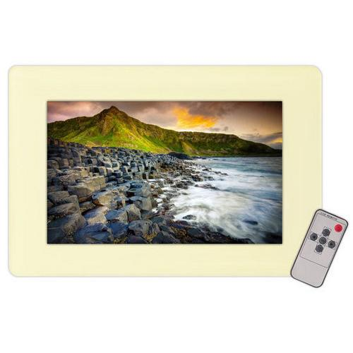 19'' In-Wall Mount TFT LCD Flat Panel Monitor For Home & Mobile Use W/VGA & RCA Iputs