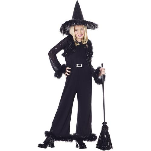 WITCH GLAMOUR CHILD BLACK LG