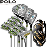 POLO Brand Golf. mens golf clubs golf irons set graphite shafts or golf club complete full set