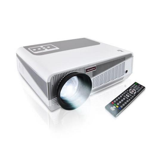 HD Hi-Res Smart Projector with Built-in Dual Core Android CPU, High Speed Wi-Fi Wireless Internet, 1080p & Blu Ray Disc Support, Projection Size up to 120'' inches