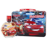 Cars Eau de Toilette (3.4oz.) and Metal Lunch Box for Kids