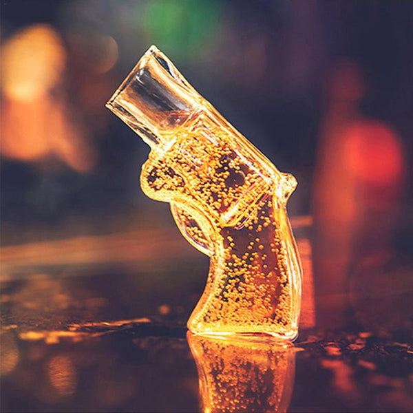 Pistol Wine Glass Whiskey Shot Glass Drinking Cup Bar Party Supplies