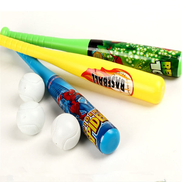Plastic Toy Baseball Toy Set Colorful Fun Family Games Camp for Outdoor Fun Sports Toys for Kids