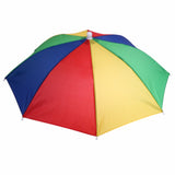 Portable Umbrella Hat Sun Shade Camping Fishing Hiking Golf Beach Headwear Outdoor Brolly Cap for Men Handsfree Umbrella Tackle