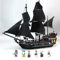 Qunlong Pirates Of The Caribbean Black Pearl Ship Building Blocks DIY Educational Toys For Kids Xmas Gifts Compatible Legoings