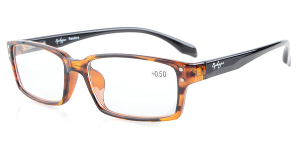 R096 Eyekepper Readers Quality Spring-Hinges Classic Reading Glasses +0.5/0.75/1.0/1.25/1.5/1.75/2.0/2.25/2.5/2.75/3.0/3.5/4.0