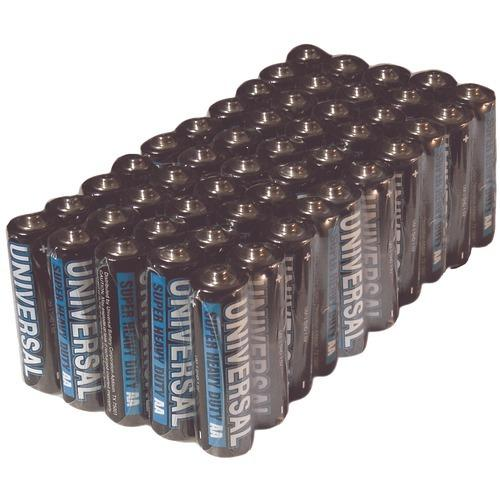 Upg Super Heavy-duty Battery Value Box (aa; 50 Pk) (pack of 1 Ea)