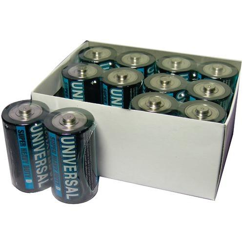 Upg Super Heavy-duty Battery Value Box (d; 12 Pk) (pack of 1 Ea)