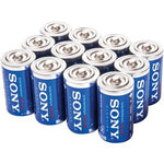 Sony Stamina Plus Alkaline Bulk Batteries (d; 12 Pk) (pack of 1 Ea)
