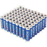 Sony Stamina Plus Alkaline Bulk Batteries (aa; 72 Pk) (pack of 1 Ea)