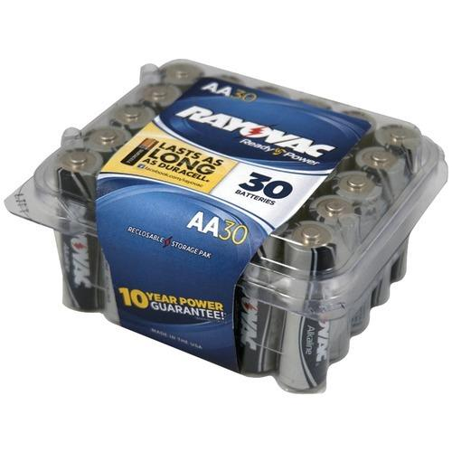 Rayovac Alkaline Batteries Reclosable Pro Pack (aa; 30 Pk) (pack of 1 Ea)