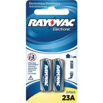 Rayovac Alkaline Keyless Entry Batteries, 2 Pk (23a Size; 12 Volt) (pack of 1 Ea)