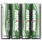 Rayovac Ready-to-use Rechargeable Nimh Batteries (aa; 1,350mah; 4 Pk) (pack of 1 Ea)