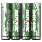 Rayovac Ready-to-use Rechargeable Nimh Batteries (aaa; 600mah; 4 Pk) (pack of 1 Ea)