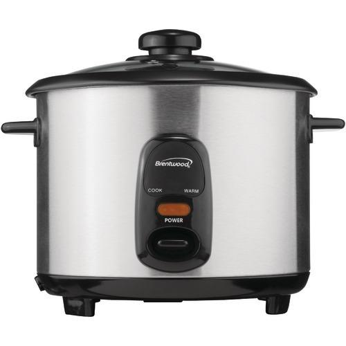 Brentwood Stainless Steel 10-cup Rice Cooker (pack of 1 Ea)