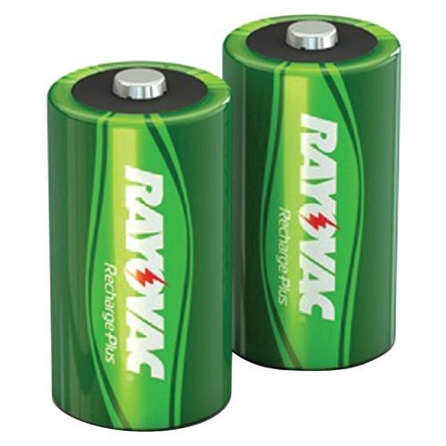 Rayovac Ready-to-use Rechargeable Nimh Batteries (c; 2 Pk; 3,000mah) (pack of 1 Ea)