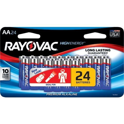 Rayovac Aa Alkaline Batteries (24 Pk) (pack of 1 Ea)