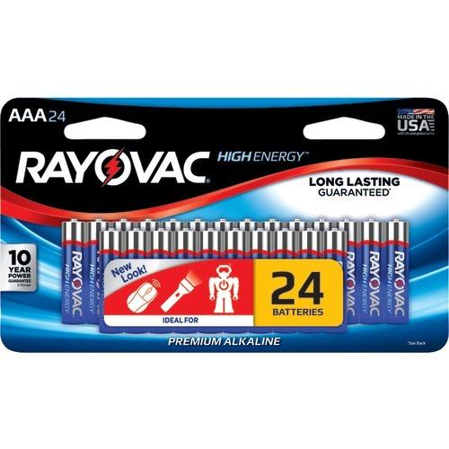Rayovac Aaa Alkaline Batteries (24 Pk) (pack of 1 Ea)