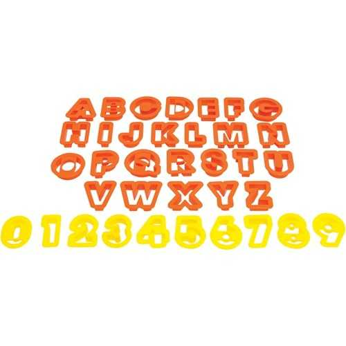 Starfrit The Cookie Cutters (numbers & Letters) (pack of 1 Ea)