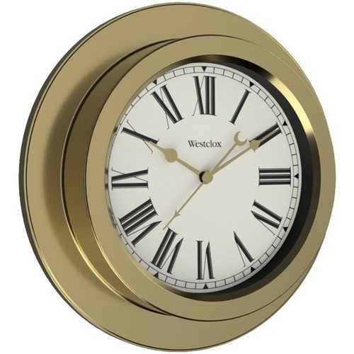 "Westclox 9.75"" Nautical Wall Clock (pack of 1 Ea)"