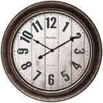 "Westclox 15.5"" Wall Clock With Antique Bronze Finish (pack of 1 Ea)"