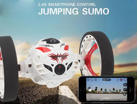 RC Car with camera HD 2.0mp Hot sale WIFI Bounce Car PEG SJ88 4CH 2.4GHz Jumping Sumo with Flexible Wheels Remote Control FSWB