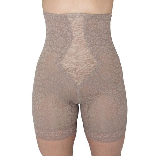 Rago Shapewear High Waist Long Leg Shaper Mocha 7X